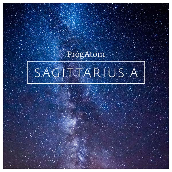 SAGGITARIUS A – Album in crystal case